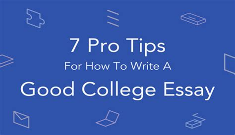 4 Ways to Write a Good College Essay - wikiHow